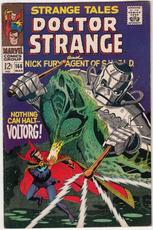 Strange Tales #166 (Mar-88) FN/VF+ High-Grade Nick Fury, Dr. Strange