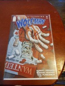 The Astounding Wolf-Man #9 (2008)