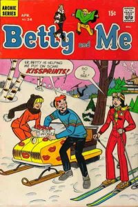 Betty And Me #34 VF; Archie | save on shipping - details inside