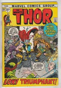 Thor, the Mighty #194 (Dec-71) FN/VF Mid-High-Grade Thor