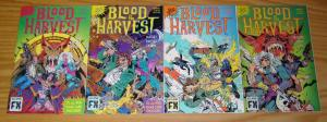 Blood is the Harvest #1-4 VF/NM complete series - bad girl vs vampires - eclipse