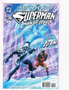 Superman The Man Of Steel # 69 VF/NM DC Comic Books Justice League Batman!! SW11