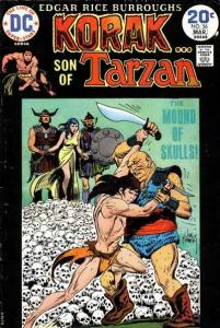 Korak: Son of Tarzan (1972 series) #56, VF (Stock photo)