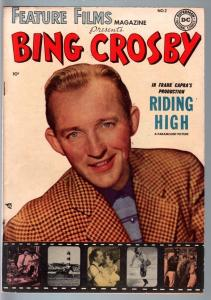 Feature Films Magazine #2-BING CROSBY-DC golden age photo cover VF