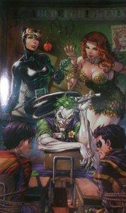 DC Super Sons #1 Tyler Kirkham Foil Custom Virgin Variant