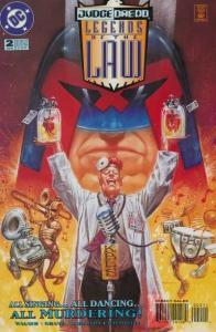 Judge Dredd: Legends of the Law #2, NM- (Stock photo)