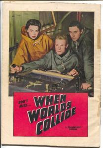 When World's Collide-Motion Picture Comics #110 1952-George Pal-Williamson-P