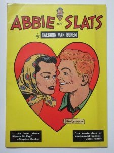 Abbie an' Slats by Raeburn Van Buren 1983 TPB Herb Galewitz Introduction.