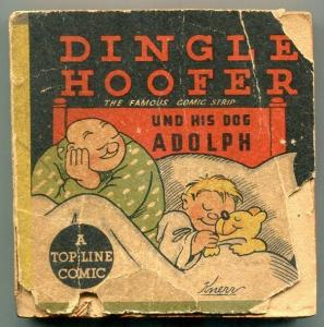 Dingle Hoffer und His Dog Adolph Top Line Comic 1935