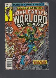 John Carter Warlord of Mars #14 (1978)