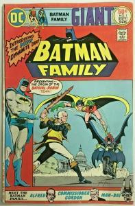 BATMAN FAMILY#1 FN/VF 1975 DC BRONZE AGE COMICS