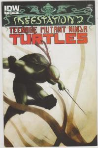 Infestation 2: Teenage Mutant Ninja Turtles #1