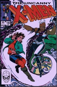 X-Men #180 - NM - Whose life is it anyway?