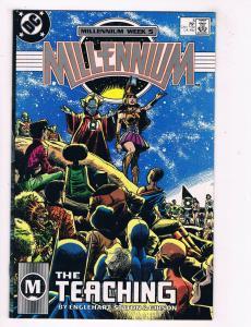 Millenium #5 VG/FN DC Comics The Teaching Comic Book Englehart 1987 DE39 AD12