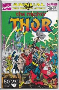 Thor   vol. 1  Annual   #16 VG (Korvac Quest 2)