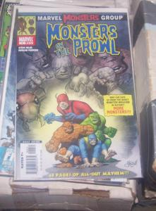 Marvel Monsters: Monsters on the Prowl #1 (Dec 2005, Marvel) 48 page giant
