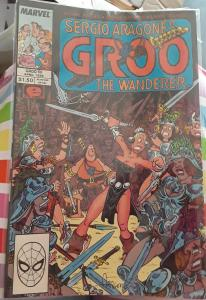 MARVEL COMICS-SERGIO ARAGONE'S GROO THE WANDERER-SPECIAL#50-DATED: APRIL 1985