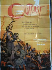 OUTCAST Promo Poster, 40.5 x 80, 2014 IMAGE Unused more in our store 551