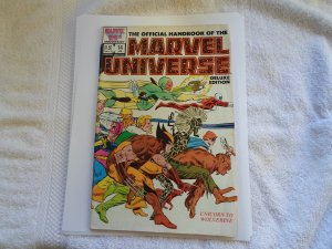 1987 MARVEL 25TH ANN, THE OFFICAL HANDBOOK OF THE MARVEL UNIVERSE # 14