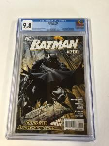 Batman 700 Cgc 9.8 White Pages Dc Comics