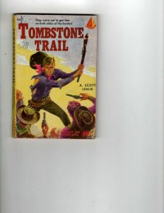 3 Books Tombstone Trail Man From U.N.C.L.E. The Invisibility Affair JK13