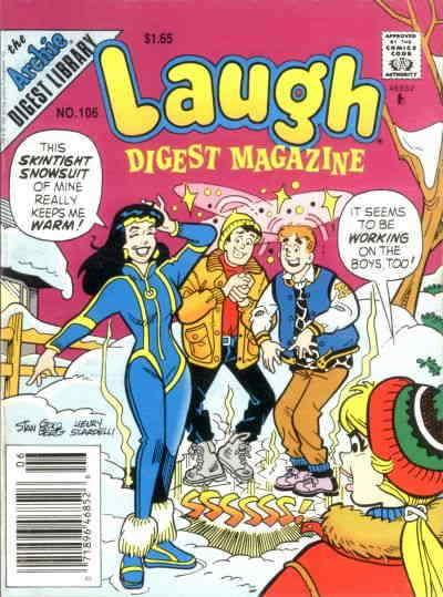 Laugh Digest Magazine #106 VF; Archie | save on shipping - details inside