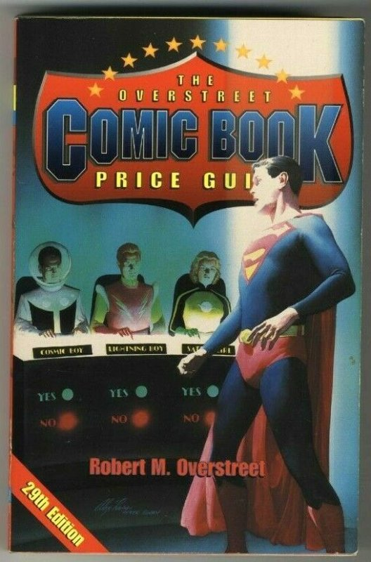 The Comic Book Price Guide Overstreet No. 29 Softcover 1999 VG-FN