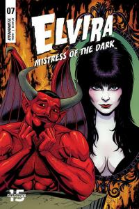 ELVIRA MISTRESS OF DARK (2018 D. E.) #7 VARIANT CVR B CERMAK PRESALE-07/10