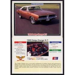 1992 Collect-A-Card Musclecars 1969 DODGE CHARGER R/T #11