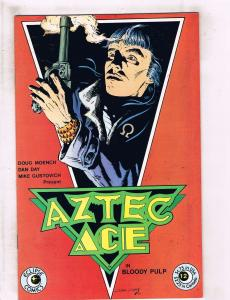Lot of 4 Aztec Ace Eclipse Comic Books #1 2 3 4 WT6