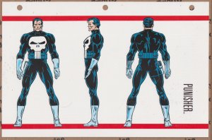 Official Handbook of the Marvel Universe Sheet- Punisher