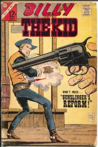 Billy The Kid #60 1967-Charlton-gunfight cover-violence-crime-VG-