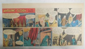Hopalong Cassidy Sunday Page by Dan Spiegle from 10/26/1952 Size 7.5 x 15 inches