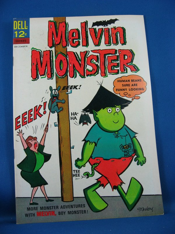 MELVIN MONSTER 3 VF NM 1965