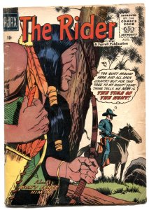 The Rider #3 1957- Western comic book VG