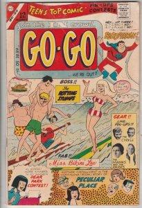 Go-Go #4 (Dec-66) VG Affordable-Grade Blooperman, The RottingStumps, Park