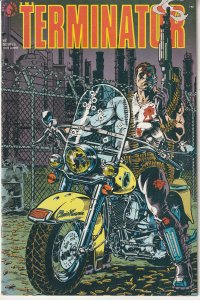 Terminator – Tempest # 2  Terminators Become Bodyguards for Cyberdyne !