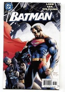 BATMAN #612 JIM LEE-BATMAN VS. SUPERMAN ISSUE-DAWN OF JUSTICE-2003 VF