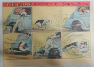 Terry (The Dog) Sunday Page Diana Thorne from 4/3/1938 Half Page Size!