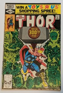 Thor #300 (Oct 1980, Marvel) VF- 7.5 Asgard is destroyed
