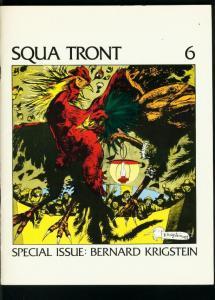 SQUA TRONT #6-EARLY EC FANZINE-1975-BERNIE KRIGSTEIN--INTERVIEW-CHELIST-BIO VF-