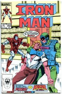 IRON MAN #202 203 204 205, VF+, Tony Stark, 1968, more in store, 4 issues