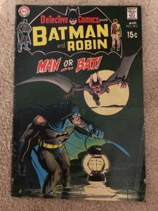 DC Detective Comics 402 Presents Batman And Robin * Man-Bat *
