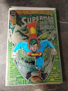 Superman #82 Chrome cover (Oct 1993, DC) NM