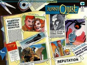 Jonny Quest (Comico) #26 VF/NM; COMICO   save on shipping - details inside