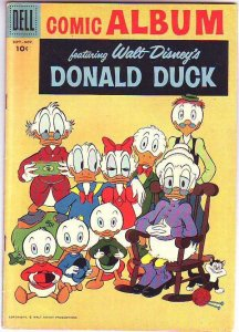 Donald Duck Comic Album #3 (Sep-58) FN/VF+ Mid-High-Grade Donald Duck, Uncle ...