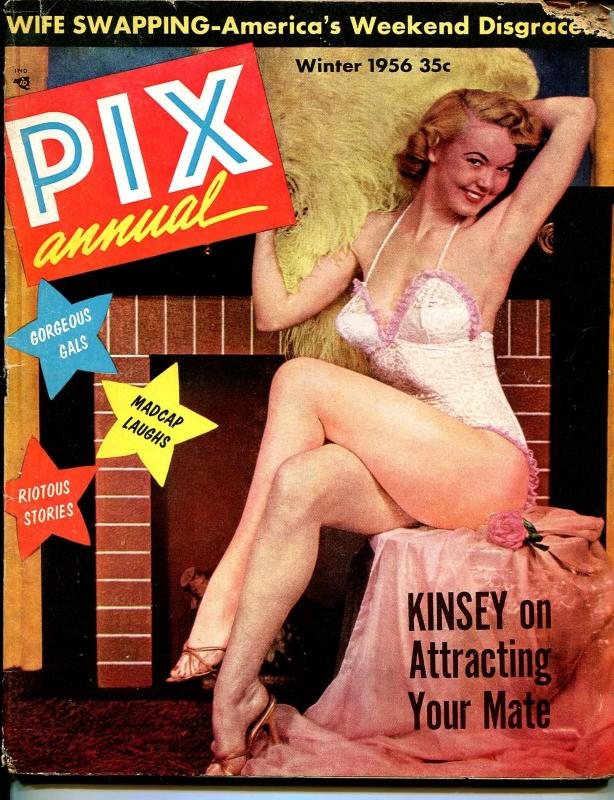 Pix Annual-Winter 1956-Exploitation-pulp fiction-cheesecake pix-wife swaps-G