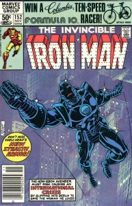Iron Man 152  9.0 (our highest grade) 1st App Stealth Armor!  NEWSSTAND EDITION