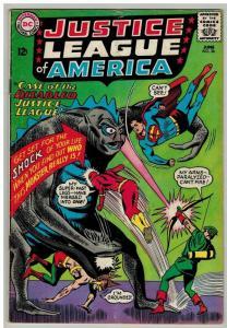 JUSTICE LEAGUE OF AMERICA (1960-1987 DC) 36 VG Jun 1965