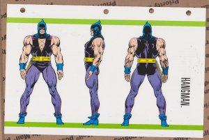 Official Handbook of the Marvel Universe Sheet- Hangman